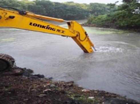 泄洪道清淤
