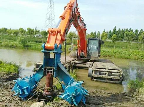 航道淤泥整治