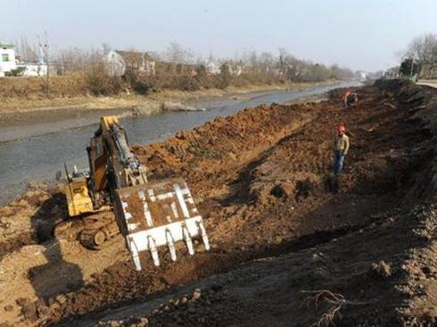 乡镇河床整理
